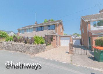 Thumbnail 3 bed semi-detached house for sale in White Hart Lane, Caerleon Village, Caerleon