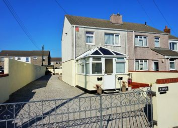 Thumbnail 3 bed semi-detached house for sale in Foundry Road, Camborne
