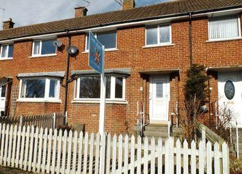 Thumbnail 3 bed terraced house to rent in Spelvit Lane, Morpeth