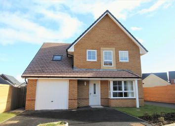 Thumbnail 4 bed detached house for sale in St. Johns View, St. Athan, Barry
