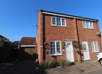 Thumbnail Semi-detached house for sale in Clover Way, Bradwell, Great Yarmouth