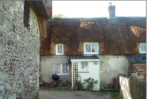 Thumbnail 1 bed terraced house to rent in East Lulworth, Wareham