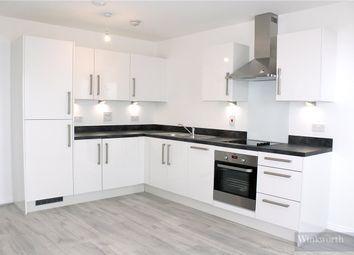 Thumbnail 2 bedroom flat to rent in Gemini Park, Manor Way, Borehamwood, Hertfordshire
