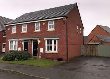 Thumbnail 3 bed semi-detached house for sale in Wren Way, Kingsway, Rochdale