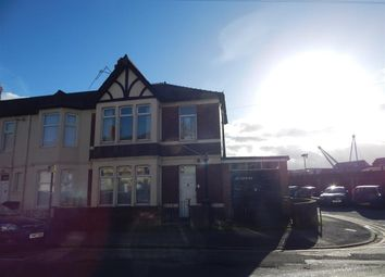 Thumbnail 3 bed terraced house to rent in Grafton Road, Newport