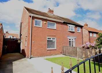 Thumbnail 2 bed semi-detached house for sale in Wells Grove, South Shields