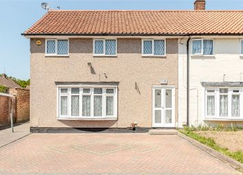 Thumbnail 4 bed end terrace house for sale in The Upway, Basildon, Essex