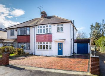 Thumbnail 3 bed semi-detached house for sale in Rose Hill Park West, Sutton