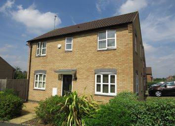 Thumbnail 3 bed detached house for sale in Pipistrelle Way, Oadby, Leicester