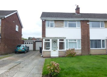Thumbnail 3 bed semi-detached house for sale in Ferndale Close, Leyland
