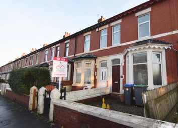 Thumbnail 4 bed terraced house to rent in Hawthorn Road, Blackpool
