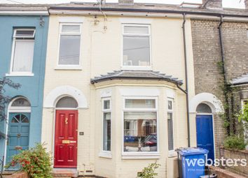 Thumbnail 3 bed terraced house for sale in Grosvenor Road, Norwich