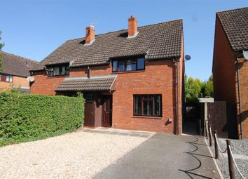 Thumbnail 3 bed semi-detached house for sale in Farm House Close, Hereford