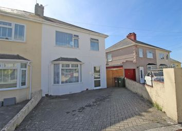 Thumbnail 3 bed semi-detached house for sale in Little Ash Road, Saltash Passage, Plymouth