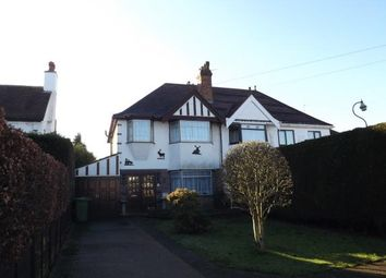 Thumbnail 3 bed semi-detached house for sale in Station Road, Marston Green, Birmingham, West Midlands