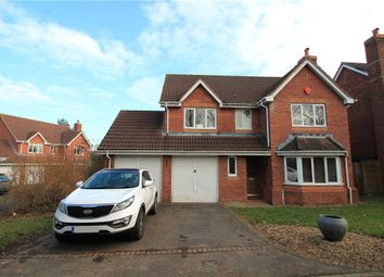 Thumbnail 4 bed detached house for sale in Pill, North Somerset
