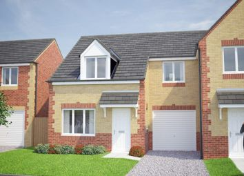 Thumbnail 3 bedroom semi-detached house for sale in Petersmith Drive, Ollerton, Newark
