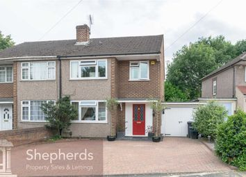 Thumbnail 3 bed semi-detached house for sale in Leyland Close, Cheshunt, Hertfordshire