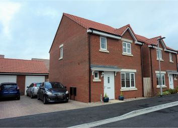 Thumbnail 3 bed detached house for sale in Sweeting Close, Creech St Michael, Taunton