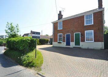 Thumbnail 3 bedroom semi-detached house for sale in Tuddenham, Ipswich, Suffolk