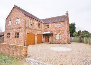 Thumbnail 4 bed detached house for sale in Finkle Street, Hensall, Goole
