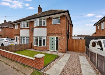 Thumbnail 3 bed semi-detached house for sale in Oadby Road, Wigston, Leicester