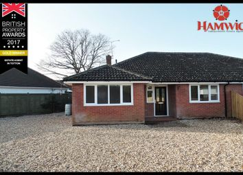 Thumbnail 4 bed semi-detached bungalow for sale in Hammonds Lane, Southampton