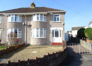 Thumbnail 3 bedroom semi-detached house for sale in Woodlands Rise, Bridgend