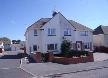 Thumbnail 3 bedroom semi-detached house for sale in Hamilton Road, Hamworthy, Poole