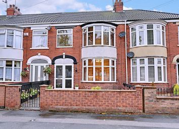 Thumbnail 3 bed terraced house for sale in Pickering Road, Hull