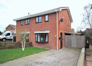 Thumbnail 2 bed semi-detached house for sale in Blakemere Close, Whitchurch