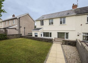 Thumbnail 3 bed semi-detached house for sale in Bronawelon Terrace, Crumlin, Newport