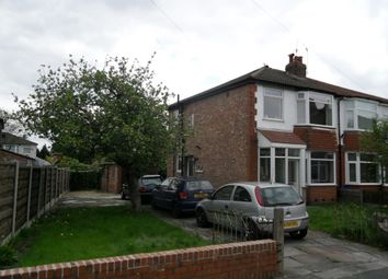 Thumbnail 3 bedroom semi-detached house to rent in Skelton Road, Stretford, Manchester