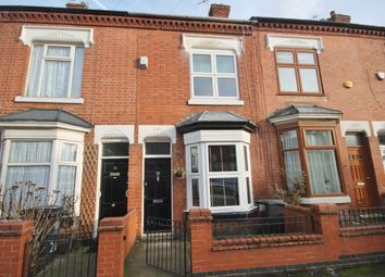 Thumbnail 2 bed terraced house to rent in Cranmer Street, West End, Leicester