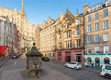 Thumbnail 1 bed flat for sale in 108A/1 West Bow, Old Town, Edinburgh