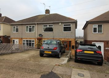 Thumbnail 3 bed semi-detached house for sale in Crestway, Chatham, Kent.