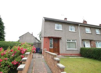 Thumbnail 2 bed end terrace house for sale in Hazel Avenue, Johnstone, Renfrewshire