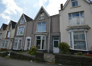 Thumbnail 4 bedroom terraced house for sale in Glanmor Road, Uplands, Swansea