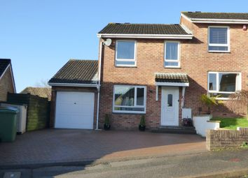 Thumbnail 3 bed semi-detached house for sale in Griggs Close, Plympton, Plymouth