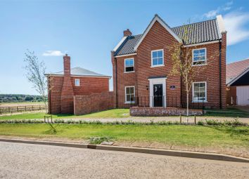 Thumbnail 4 bed detached house for sale in Curlew Close, Hunstanton