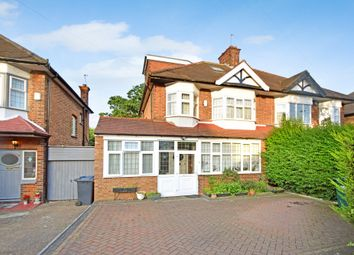 Thumbnail 4 bed semi-detached house to rent in Chanctonbury Way, Woodside Park