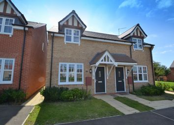 Thumbnail 2 bed semi-detached house for sale in Highwayman Close, Buckton Fields, Northampton