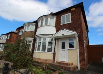 Thumbnail 3 bed semi-detached house for sale in Clifton Road, Darlington