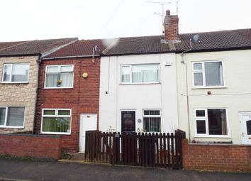 Thumbnail 3 bed terraced house for sale in Duke Street, Creswell, Worksop.