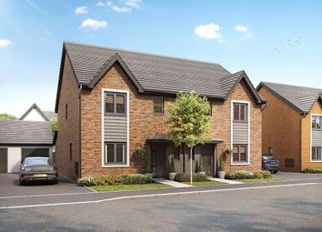 Thumbnail 3 bed semi-detached house for sale in Wheatfield Drive, Witney, Oxfordshire