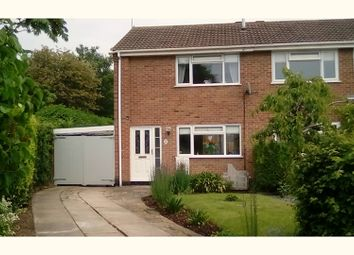 Thumbnail 2 bed semi-detached house for sale in Barrett Drive, Loughborough