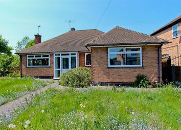 Thumbnail 3 bed bungalow for sale in Holmfield Avenue East, Leicester