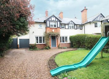Thumbnail 4 bed semi-detached house for sale in Swithland Lane, Rothley, Leicester
