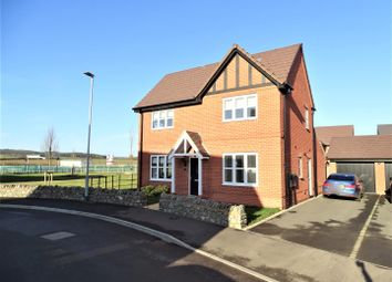 Thumbnail 4 bed detached house for sale in Pollards Road, Anstey, Leicester