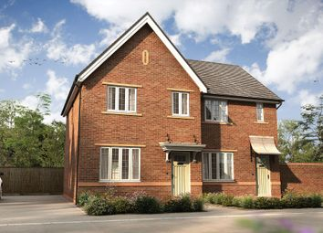 """Thumbnail 3 bedroom semi-detached house for sale in """"The Byron"""" at Roman Road, Bobblestock, Hereford"""